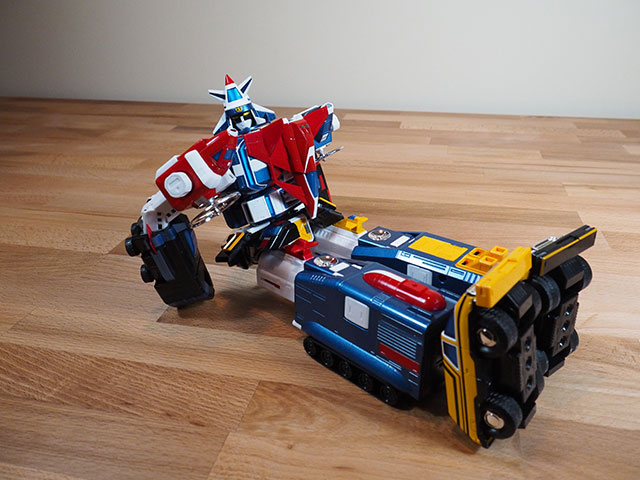 Vehicle Voltron / Dairugger XV